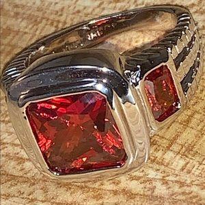 Awesome garnet ring